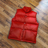 "1970's ""The North Face"" 茶タグ Down Vest SIZE : L"