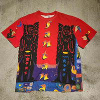 "~1990's ""Santana"" Over Pattern Tee SIZE : XL"