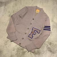 """1950's """"Leterman's"""" Lettered Cardigan SIZE : M"""