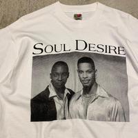 "1990's ""SOUL DESIRE"" Short Sleeve Tee SIZE : L"