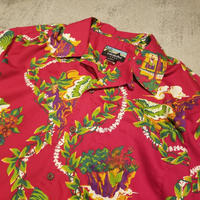 "2000 ""Pataloha"" Cotton Hawaiian Shirt SIZE : M"