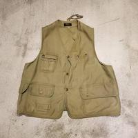 """1950's """"L.L.Bean"""" Half Moon Hunting Vest SIZE : M"""