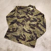 ~1970's Tiger Camoflage Pattern Jacket SIZE : A-L