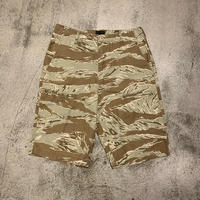 """2000's """"Stussy"""" Tiger Camouflage Pattern Short Pants Made In U.S.A SIZE : W29"""
