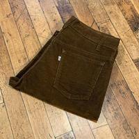 "1980's ""Levi's"" 519 Corduroy Pants SIZE : W34 L34"