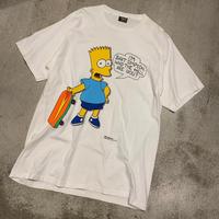 "1980's ""The Simpsons"" Short Sleeve Tee Dead Stock SIZE : XL"