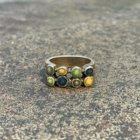 "1970's ""Navajo"" Vintage Silver Ring SIZE : 9号"