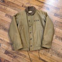 "1940's ""U.S.Navy"" N-1 Deck Jacket SIZE : 38"