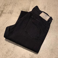 """Ralph Lauren"" Black Denim Pants SIZE : W34 L30"