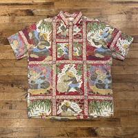 """Reyn Spooner"" S/S Shirts SIZE : L"