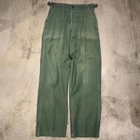 "~1960's ""U.S.Military"" Baker Pants SIZE : W30 L30"