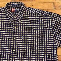 """1990's """"CHAPS Ralph Lauren"""" Short Sleeve Shirt SIZE : XL"""