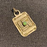 """1920's """"Navajo"""" Swastika Necklace Top"""