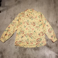 "1930's ""Sea Island"" L/S Cotton Shirt SIZE : L位"