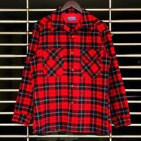 "1970's ""Pendleton"" Wool Shirt SIZE : L"