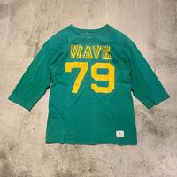 "1970's ""Champion"" Football T-Shirt SIZE : L"