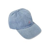 CAP-POODLE①-DENIM