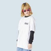 TEE-OYASUMI②-WHITE-S/S