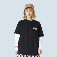 TEE-OYASUMI①-BLACK-S/S
