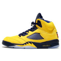 "NIKE AIR JORDAN 5 RETRO SE ""MICHIGAN""""INSPIRE."" (CQ9541 704)"