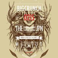 BIG CRUNCH STICKER 003