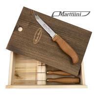 1440016 GOURMET STEAK KNIFE SET 6 pcs, wooden box グルメ ステーキ ナイフ 6本セット