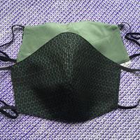 紳士用 紬使用のリバーシブルマスク 14