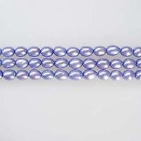 淡水パールNo.47A ブルーパープルライス4~4.5mm