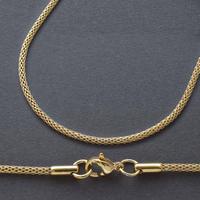 ステンレス製チェーン ロープ【ゴールド・50cm・3本セット】