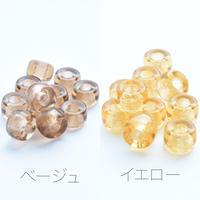 全18色 チェコ製 ガラス (小) 6×4mm【50個】