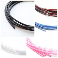 【全5色】PVCチューブ φ3mm × 2m
