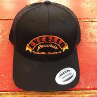 エクセロ レコード クラシック ブラック トラッカー ハット