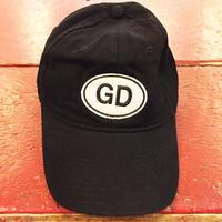 グレイトフル デッド・オーヴァル GD & レインボウ ダンサーズ ボールキャップ ブラック