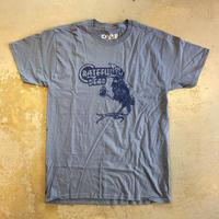 グレイトフル デッド・バード ソング T-シャツ ブルー グレー