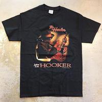 ジョン リー フッカー・ザ ヒーラー 1989 Tシャツ ブラック