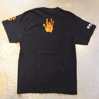 ジェリー ガルシア・サン フランシスコ ジャイアンツ フィンガー プリント Tシャツ (U.S.A. 中古衣料品)