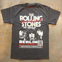ザ ローリング ストーンズ・ブラック&ブルー 1976 ヨーロッパ ツアー T-シャツ