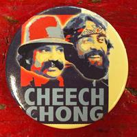 チーチ&チョン・レトロ ブラザーズ 缶バッジ