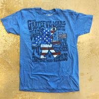 グレイトフル デッド・ウェイヴ ザ フラッグ ベアー 1974 ヴィンテージ スタイル T-シャツ
