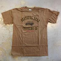 グレイトフル デッド・トラッキング カンパニー ツアー イシュー 1965 Tシャツ ブラウン