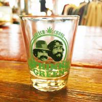 チーチ&チョン・シンク グリーン ショット グラス