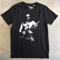 フランク ザッパ・黙ってギターを弾いてくれ オーガニック Tシャツ ブラック