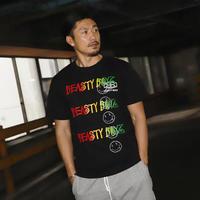 PAINTヘキサゴンTシャツ   カラー:ブラック  品番:5004