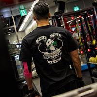 Panda Tシャツ カラー:ブラック  品番:5009