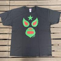ビックサイズ マスク1Tシャツ ブラック  2021カラー