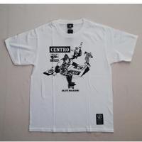 キン肉マンコラボ ソルジャーチーム スケートボードTシャツ ホワイト