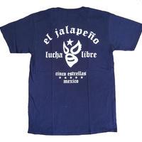 マスク2 Tシャツ ネイビー ルチャリブレ