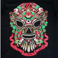 メキシコ直輸入 マスカラ1Tシャツ  ブラック