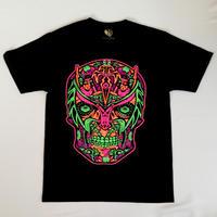 メキシコ直輸入 マスカラ2Tシャツ  ブラック
