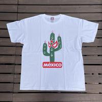 ビックサイズ サボテンマスクTシャツ ホワイト